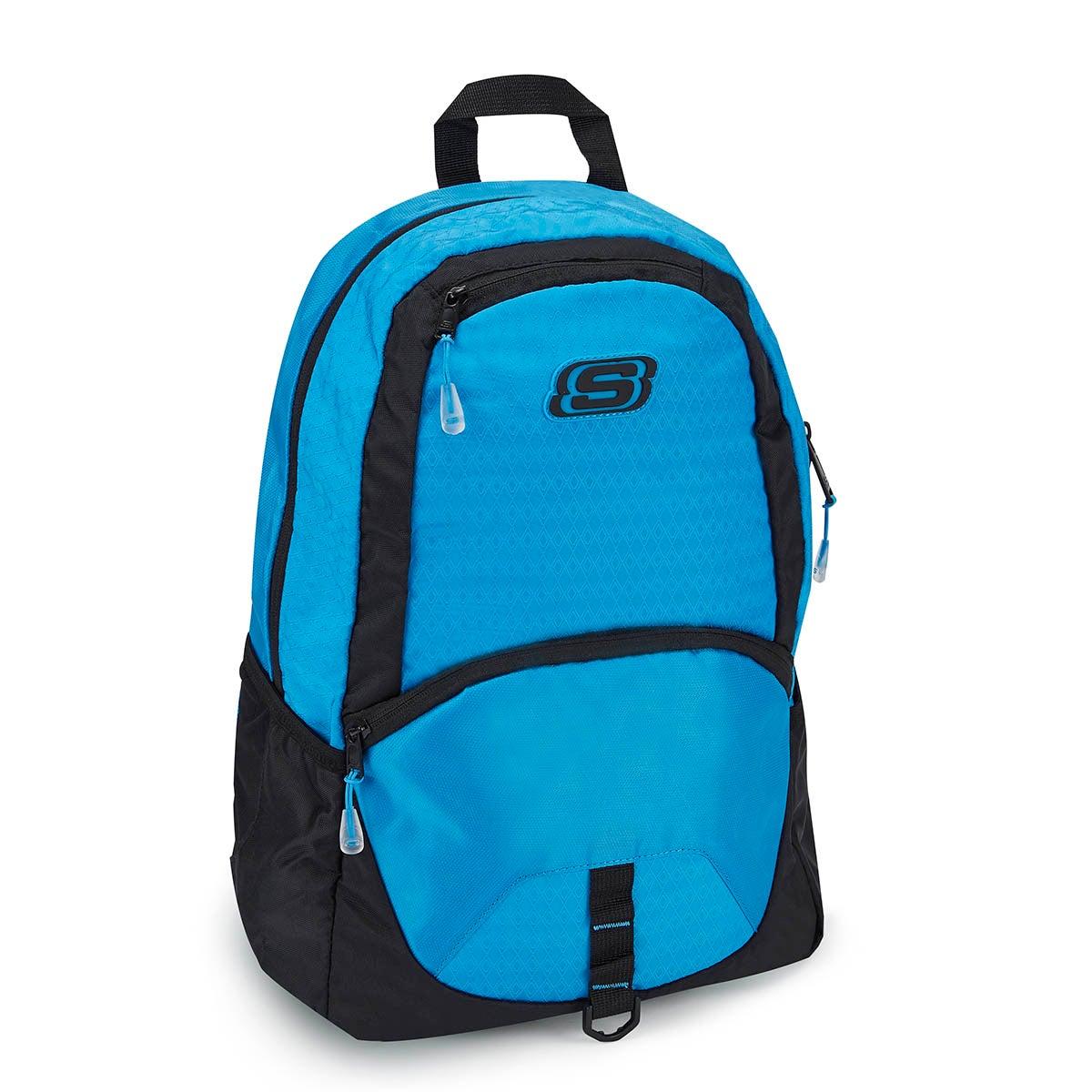 Kds Speedway Overdrive blue backpack