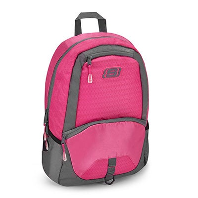 Skechers Girls' TOTAL SPEEDWAY OVERDRIVE pink backpack