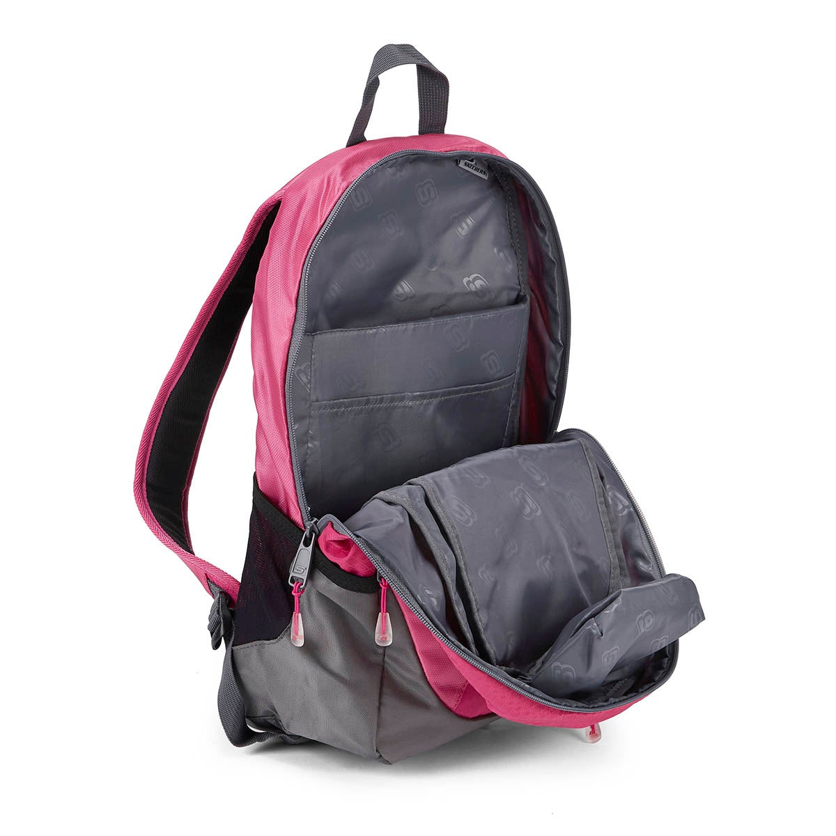 Grls Speedway Overdrive pink backpack