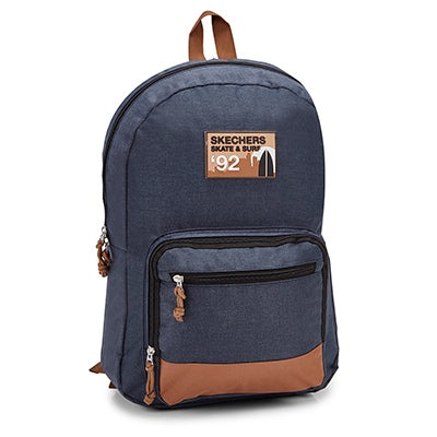 Skechers Unisex SIMPLE EVERYDAY navy/tan backpack