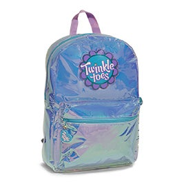 Skechers Girls TWINKLE TOES GLO turquois/aqua backpack