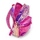Grls Twinkle Toes Glo pnk/ppl backpack