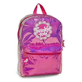Skechers Girls TWINKLE TOES GLO pink/purple backpack