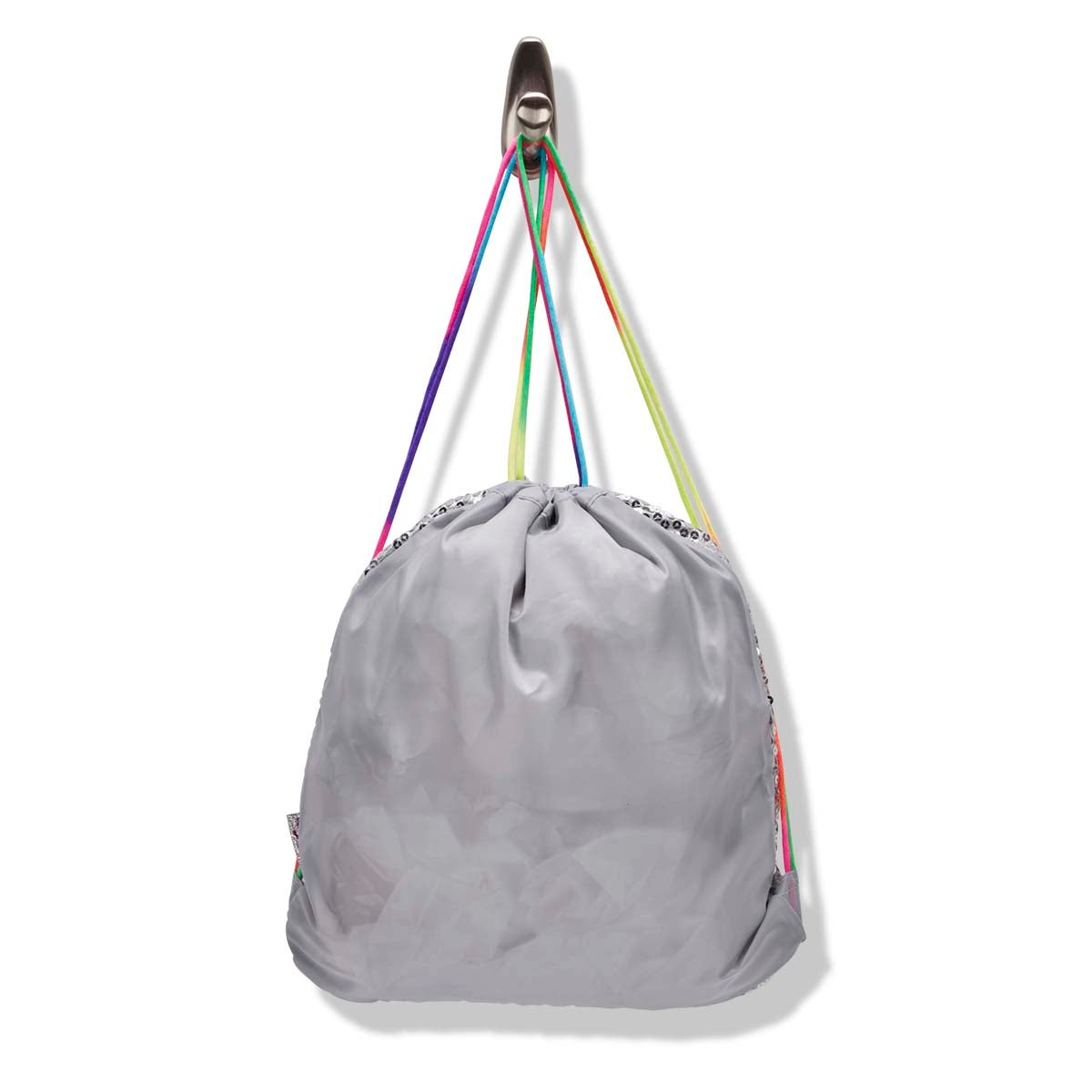 Grls TwinkleToes slv drawstring backpack