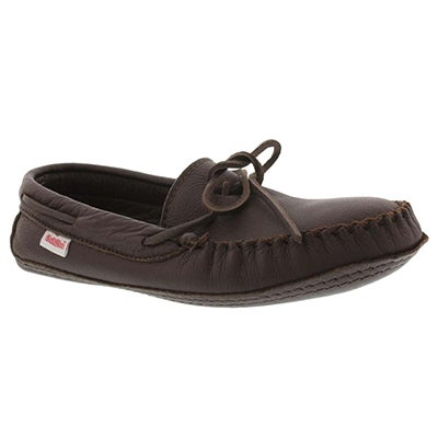 SoftMoc Men's 3000 brown leather moccasins