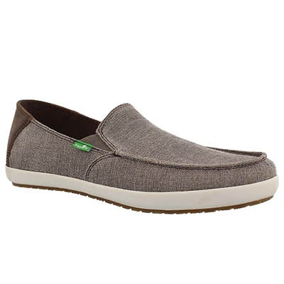 Mns Casa Vintage brindle slip on shoe