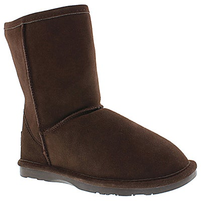 SoftMoc Women's SMOCS 4 chocolate mid suede boots