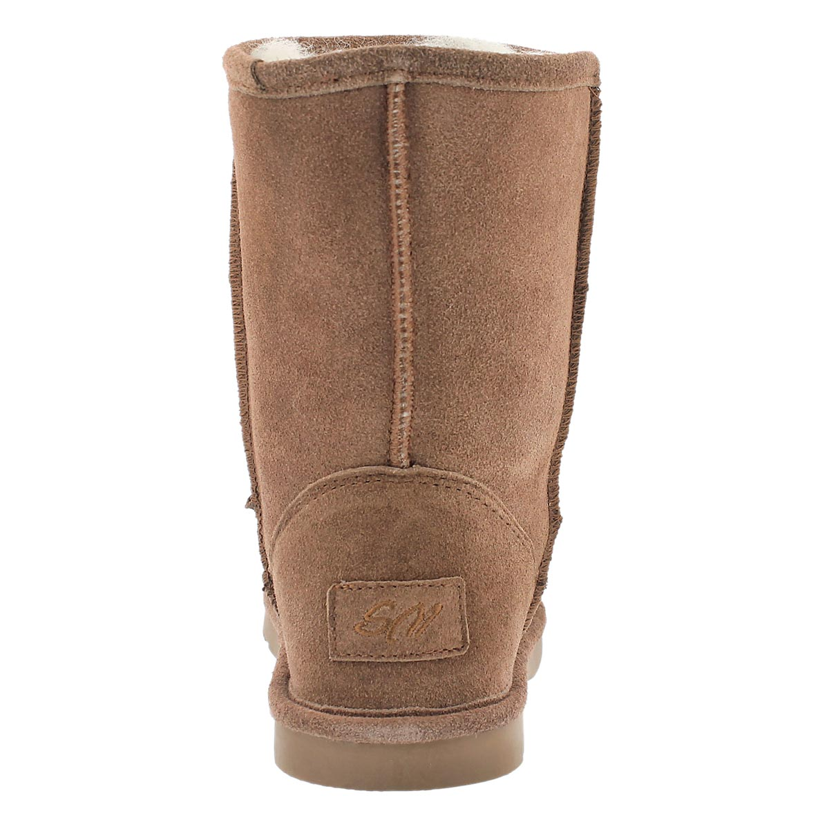 Lds Smocs 4 spice mid suede boot