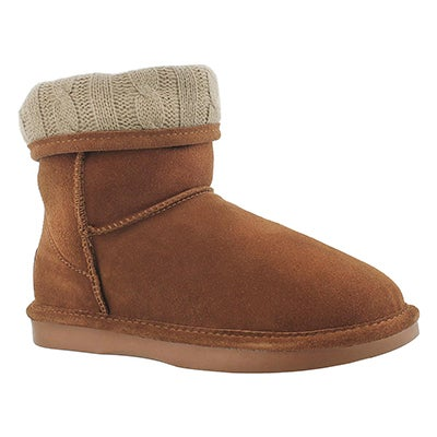 SoftMoc Women's SMOCS CUFF spice suede boots