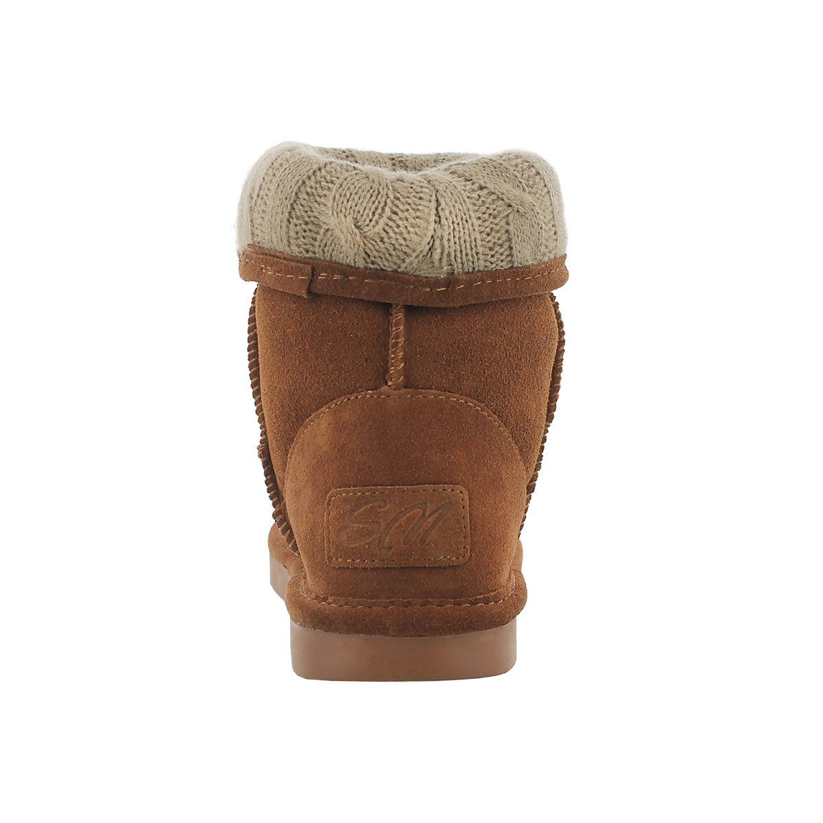 Lds Smocs Cuff spice suede boot