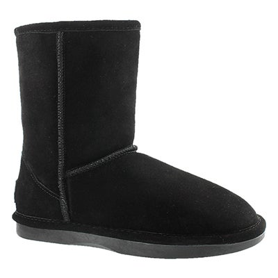 SoftMoc Women's SMOCS ZIP black suede boots