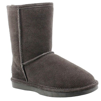 SoftMoc Women's SMOCS ZIP grey suede boots