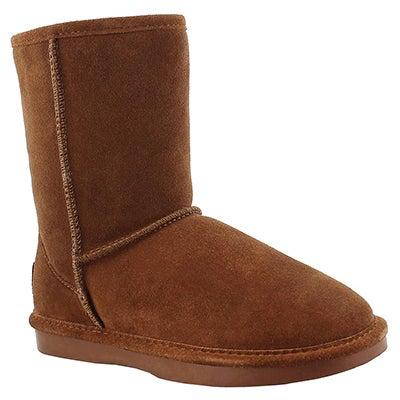 SoftMoc Women's SMOCS ZIP spice suede boots