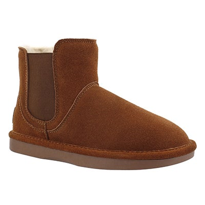 SoftMoc Women's SMOCS 5 spice chelsea suede boots