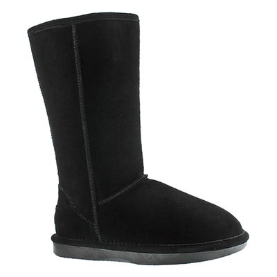SoftMoc Women's SMOCS 5 black tall suede boots