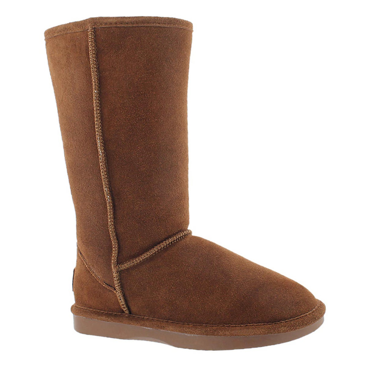 Lds Smocs 5 spice tall suede boot