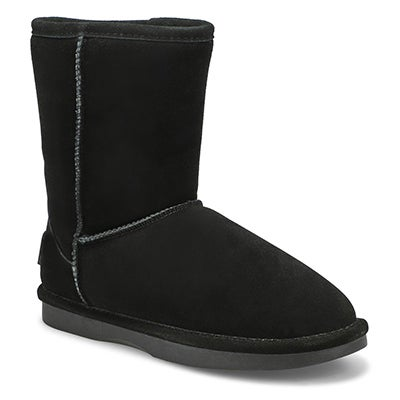 SoftMoc Women's SMOCS 5 black mid suede boots