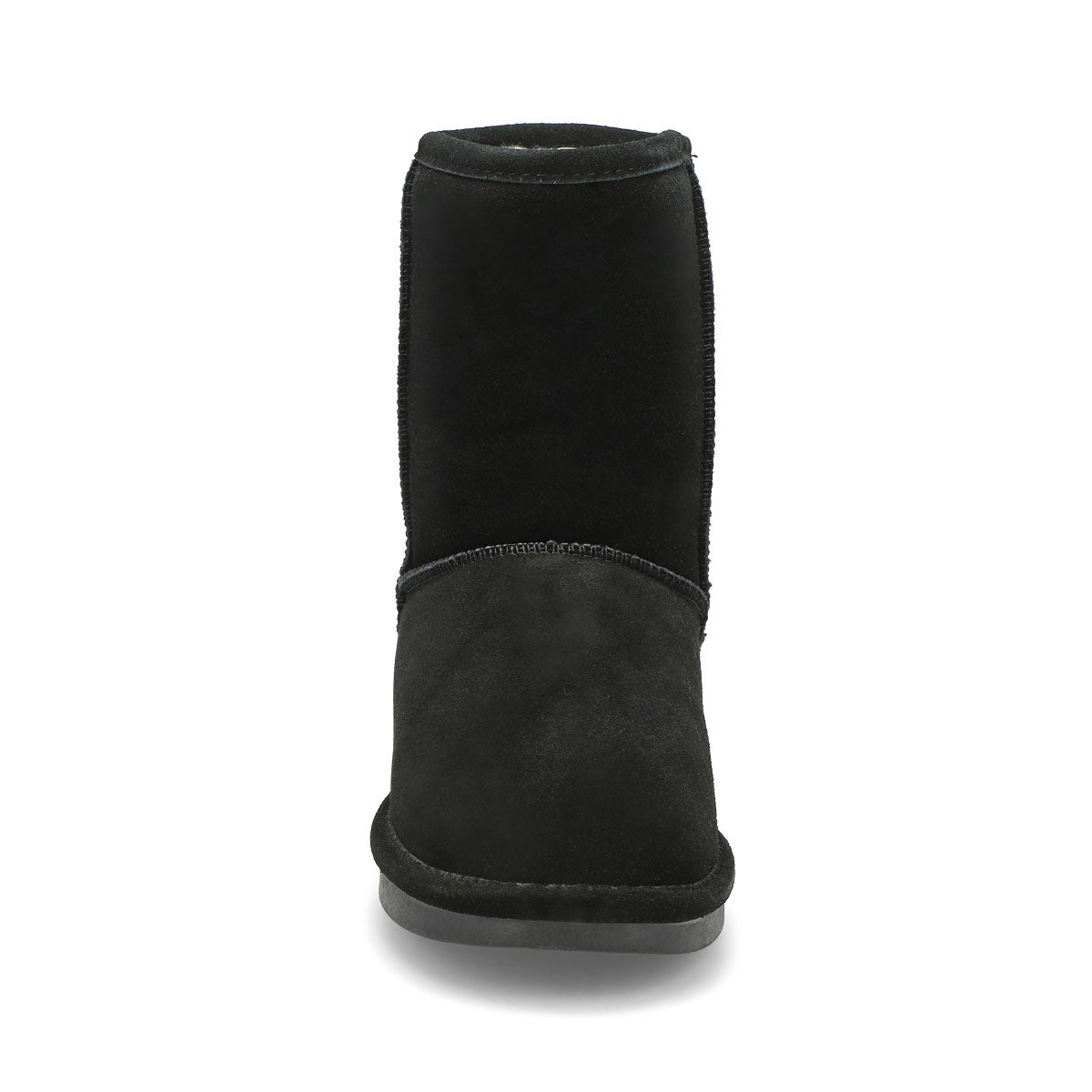 Lds Smocs 5 black mid suede boot