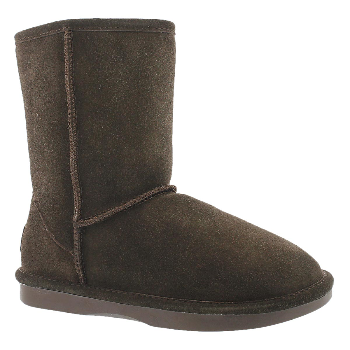 Women's SMOCS 5 chocolate mid suede boots