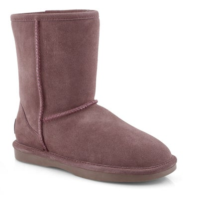 Lds Smocs 5 rose mid suede boot