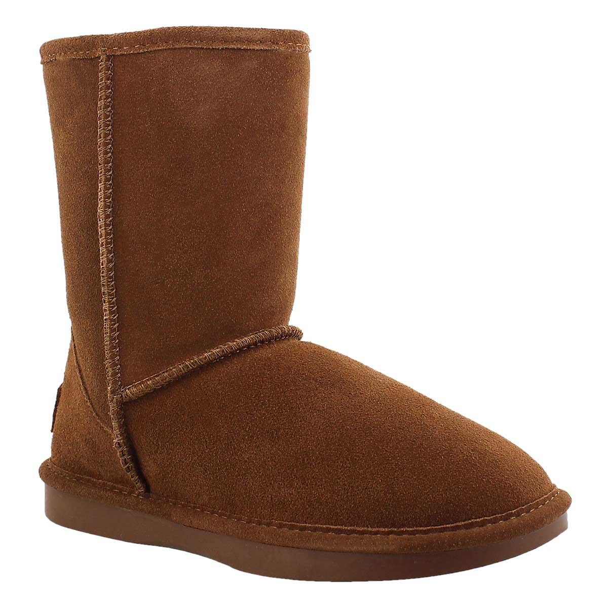 Lds Smocs 5 spice mid suede boot