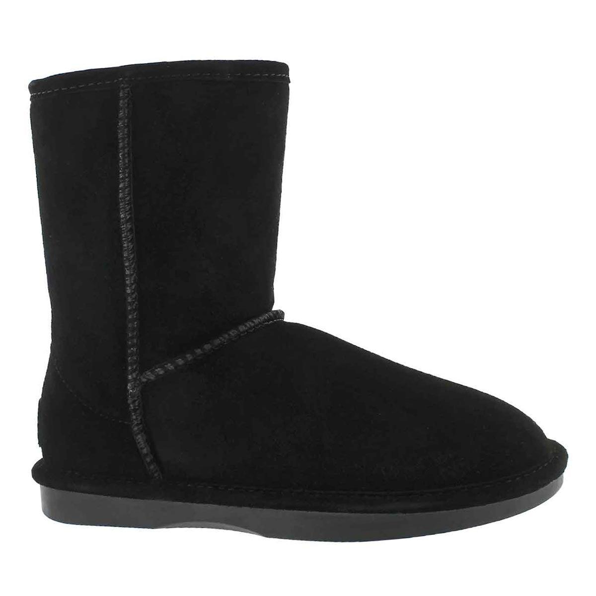 Women's SMOCS 5  ZIP black suede boots