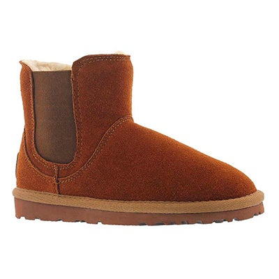 SoftMoc Girls' SMOCS 5 spice chelsea suede boots