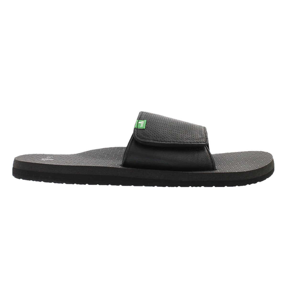 Mns Beer Cozy Light Slide black sandal