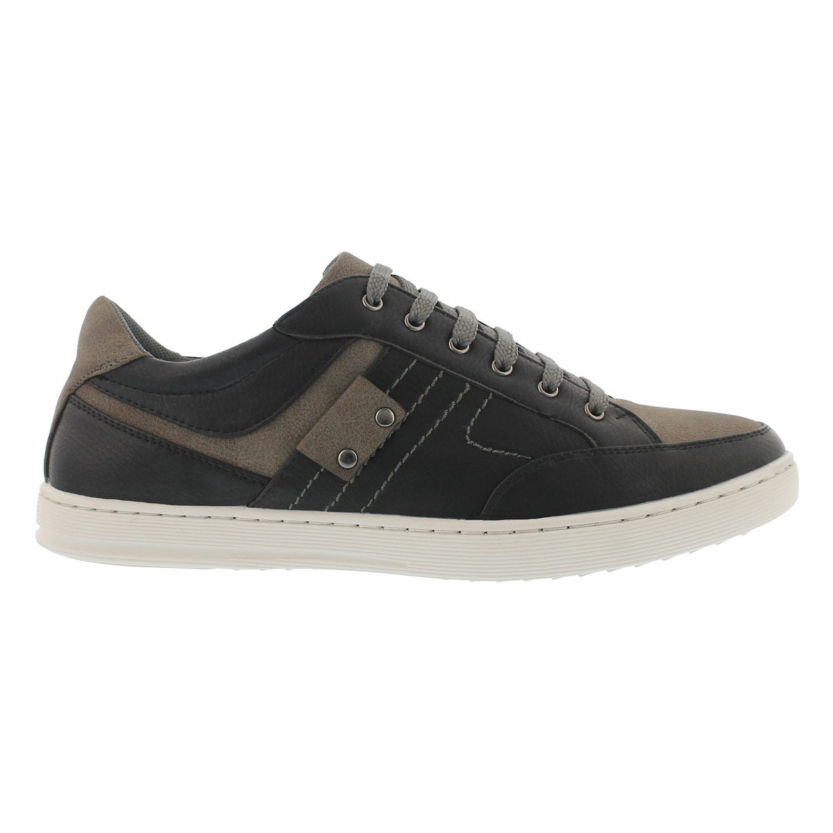 Mns Snap black/grey fashion sneaker