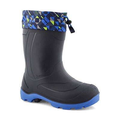 Kds Snobuster 2 nvy/blu wp winter boot
