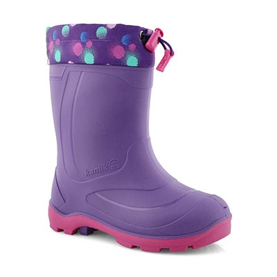 Grls Snobuster 2 ppl/mag wp winter boot