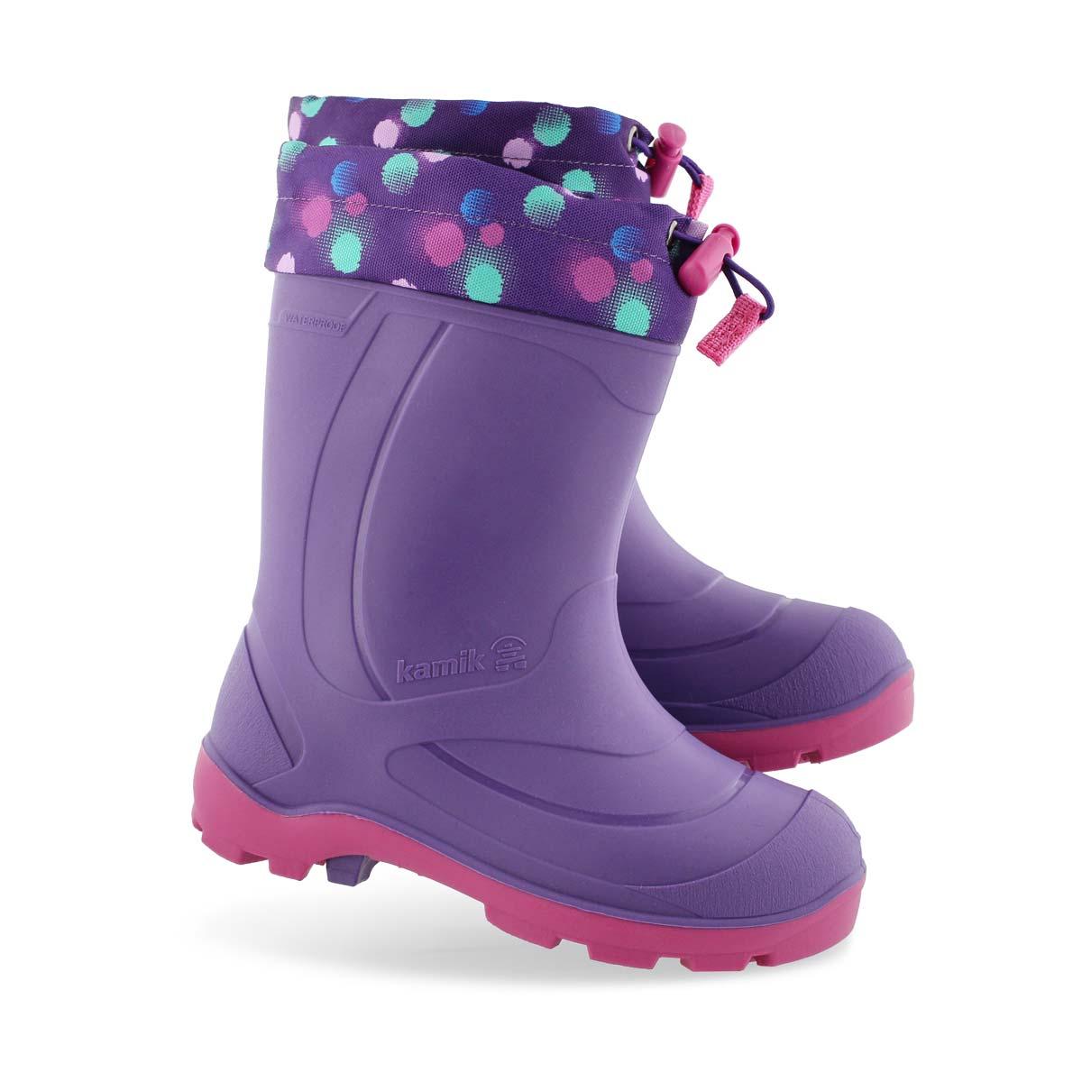 Girls' SNOBUSTER 2 ppl/mag waterproof winter boots