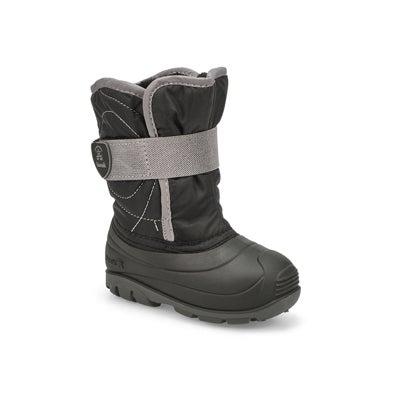 Inf-b Snowbug3 black wtpf winter boot