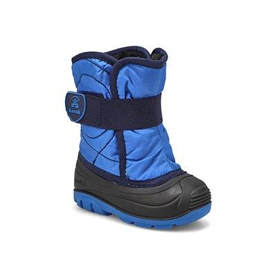 Inf-b Snowbug3 blue wtpf winter boot