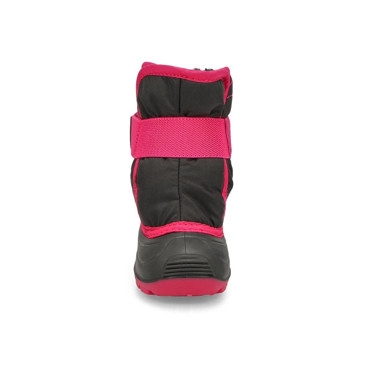 Toddlers' SNOWBUG 3 blk/mgta wtrpf winter boots