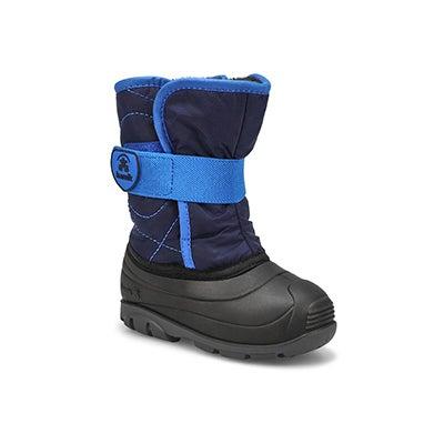 Inf-b Snowbug3 navy wtpf winter boot