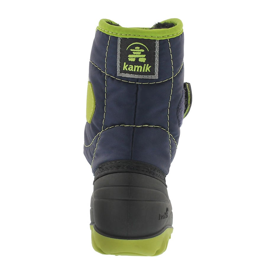 Infs Snowbug3 nvy/lime winter boot
