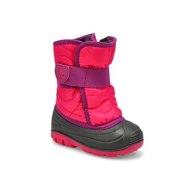 Inf-g Snowbug3 rose wtpf winter boot