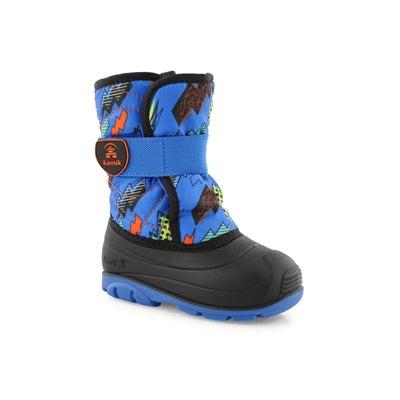 Infs-b Snowbug4 blu/org wtp winter boot