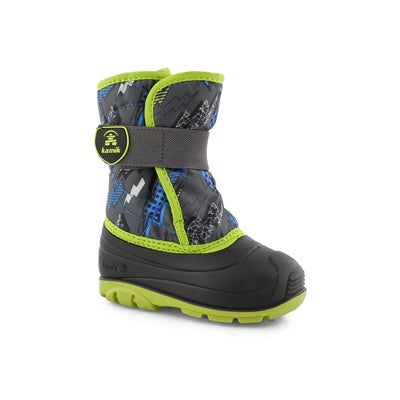 Infs-b Snowbug4 char/lme wtp winter boot