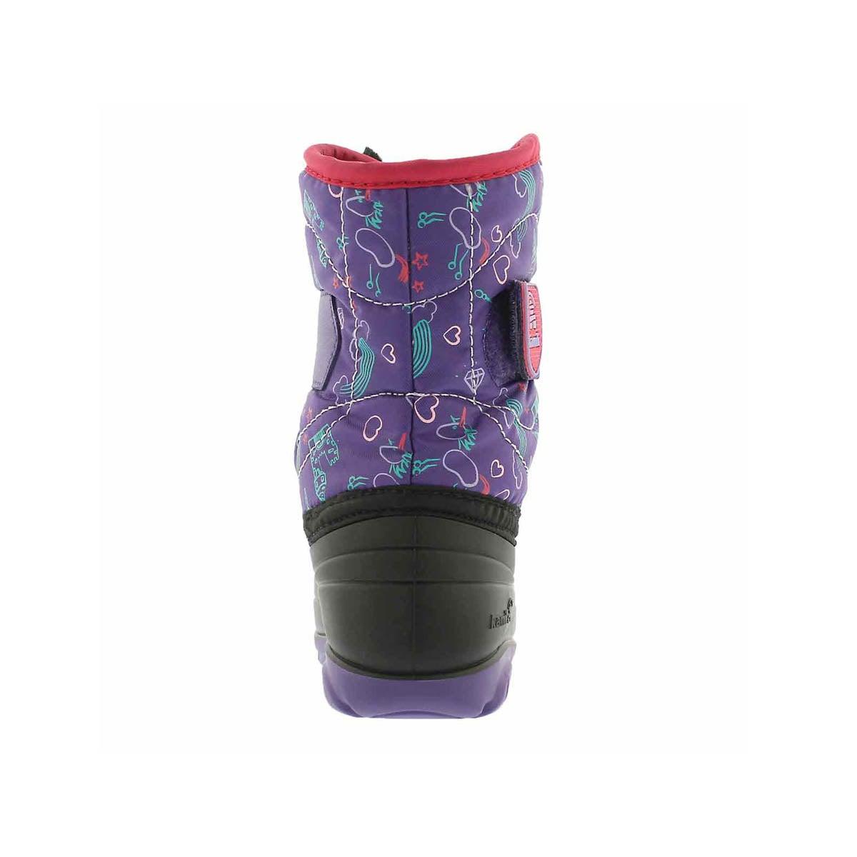 Inf-g Snowbug4 ppl wtpf winter boot