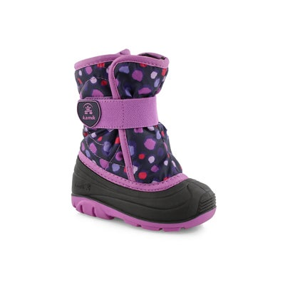 Infs-g Snowbug4 pur/orc wtp winter boot