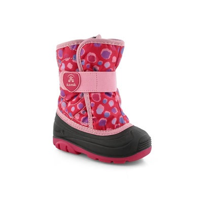 Infs-g Snowbug4 rose wtp winter boot