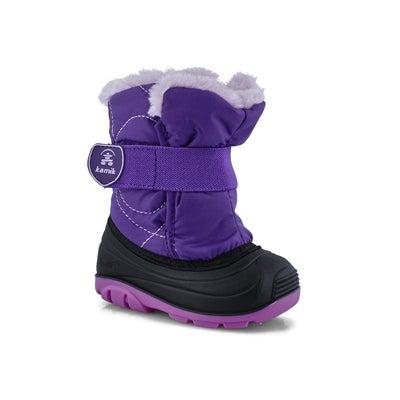 Infs-g SnowbugF pur wtpf winter boot