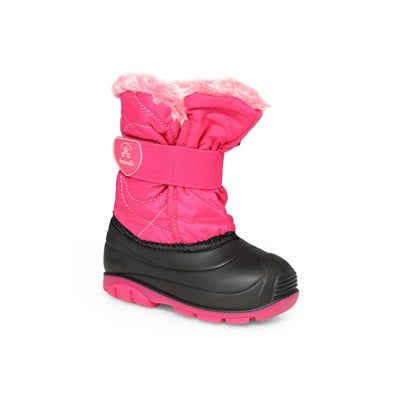 Infs-g SnowbugF rose wtpf winter boot