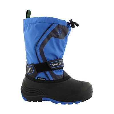 Bys Snowcoast3 blue wtpf winter boot