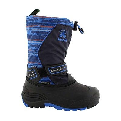 Bys SnowcoastP nvy/blu wtpf winter boot