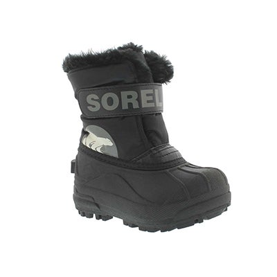 Sorel Infants' SNOW COMMANDER black boots