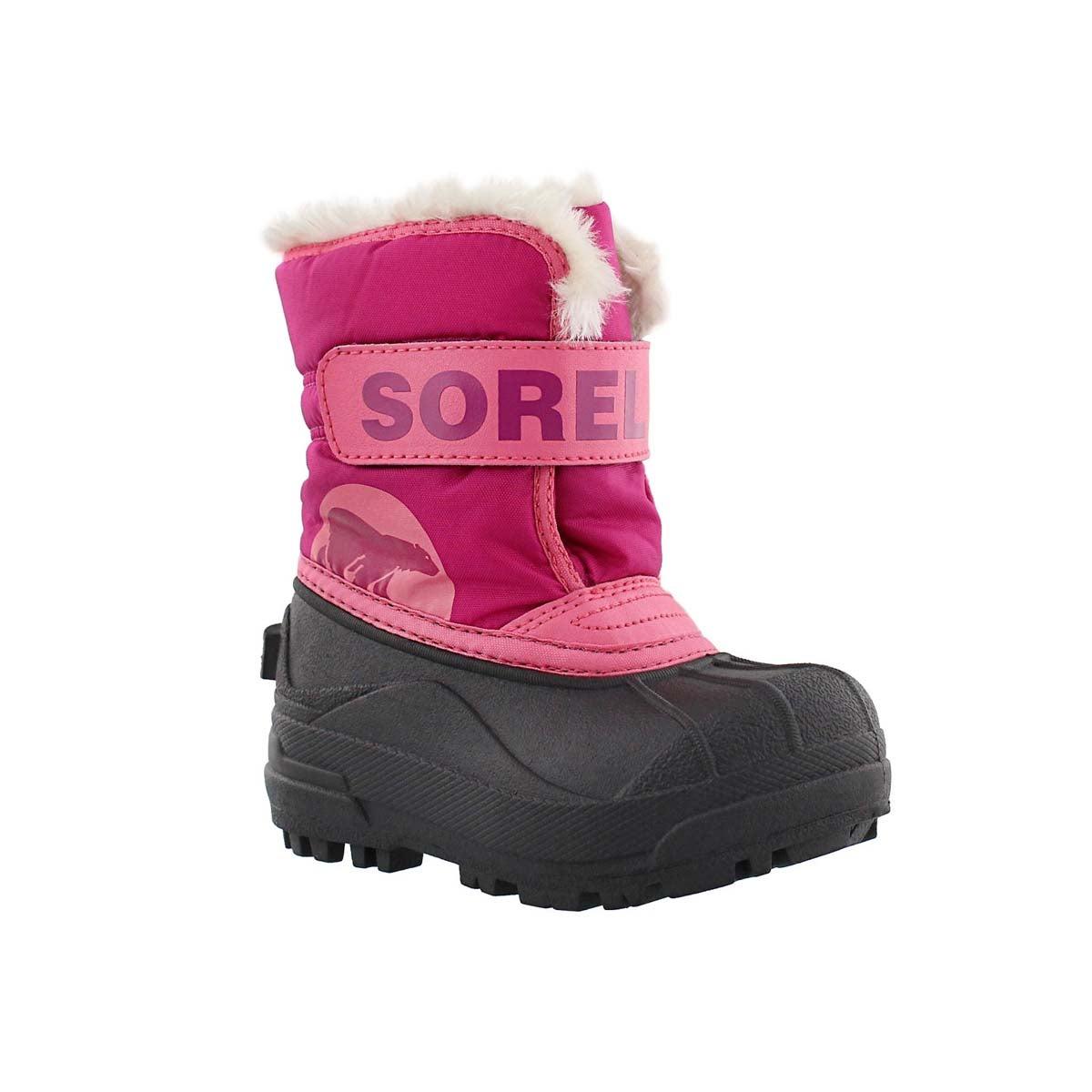 Infants' SNOW COMMANDER pink/blush boots