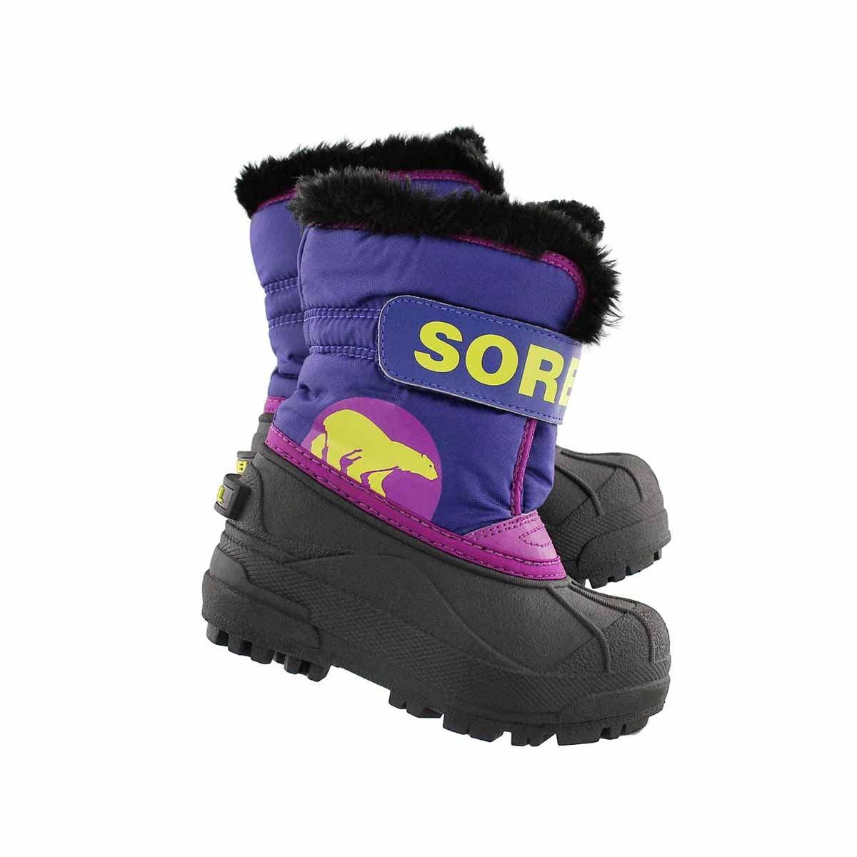 Inf Snow Commander grape/plum boot